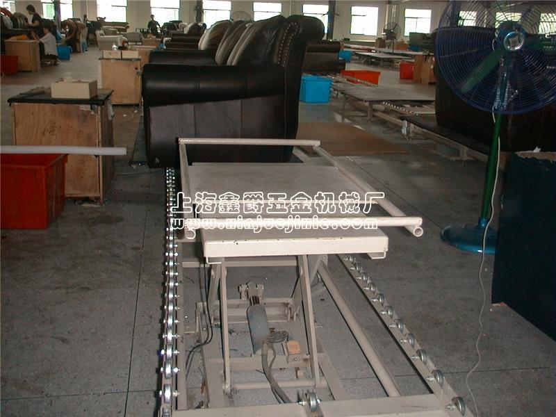 沙发组装用液压升降台